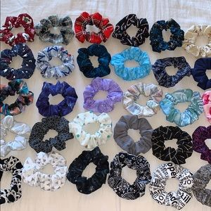 30 PC Custom Scrunchie Set